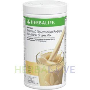 Θρεπτικό Πρωτεϊνούχο Ρόφημα Formula 1 γεύση Βανίλια 550g Herbalife