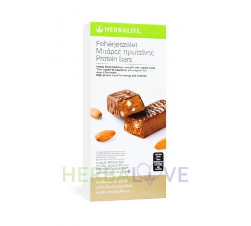 Μπάρα πρωτεΐνης γεύση Bανίλια-Aμύγδαλο 14 τεμάχια Herbalife