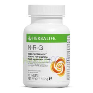 Ταμπλέτες με φυσικό εκχύλισμα Γκουαράνα N-R-G Herbalife